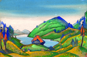 Image courtesy of the Roerich Museum, New York