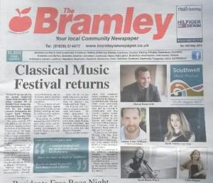 bramley southwell musiv festival