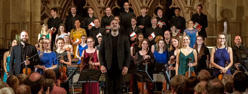 Performers at Southwell Music Festival